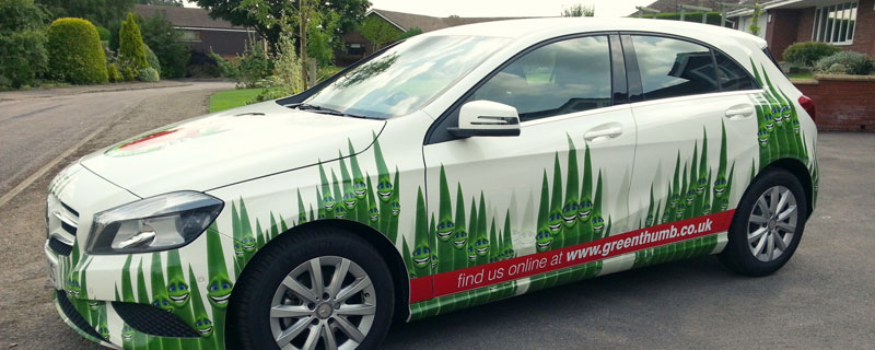 Vehicle Graphics & Vinyl Wraps in Chester & Wrexham